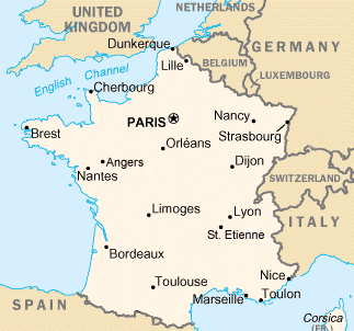 Angers Map
